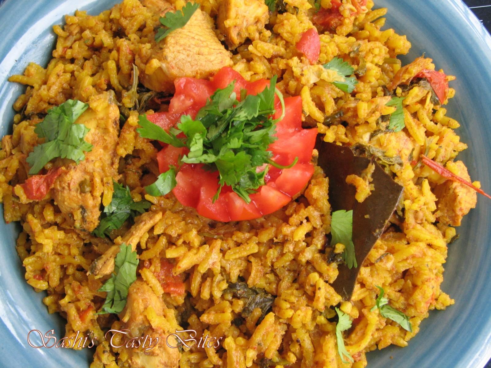 Bangalore Chicken Biryani - 2 | kannadigara oota
