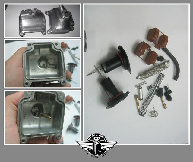 [Dự Án] Tân trang Honda Bently 125 - Phần 3 - BXL và BXC