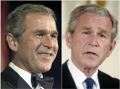 Pictures That Show How 8 Years Has Aged George W Bush