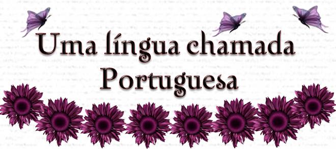 NOSSA LÍNGUA PORTUGUESA
