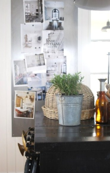 Rustik Kokso : rustik kokso  Nu har voggen i koket fott sollskap av en snygg