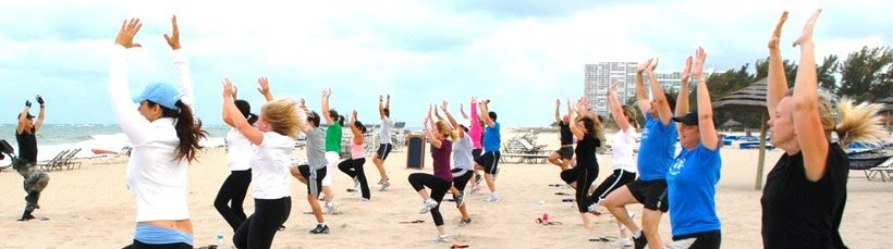 Beach Boot Camp Fitness