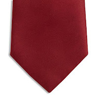 wine tie, wine coloured tie