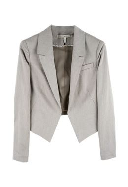 Twenty8Twelve Pin Cropped Tuxedo Jacket
