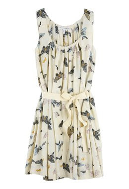twenty8twelve pia butterfly print dress