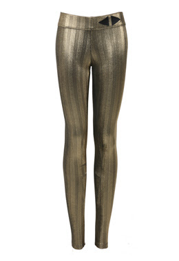 jasmine de milo lame leggings