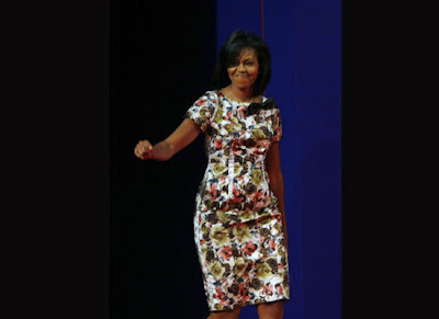 Michelle Obama wears Thakoon Panichgul