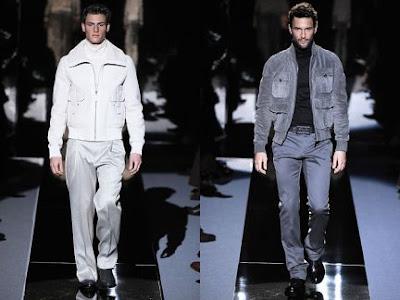 versace's multi pocketed jacket, autumn/winter 2009/10