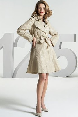 flared trench coat, ladies trench coat