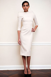 shift dress from Victoria Beckham's fall 09 ready to wear collection