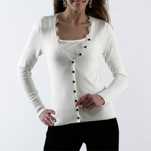 Ladies Knitwear Autumn/Winter 09/10, Soft and silky cardigan