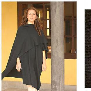 Alpaca wool wrap, Ladies Knitwear Autumn/Winter 09/10