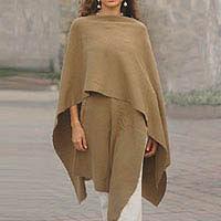 alpaca wool wrap from Munique