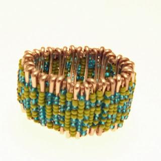 chunky bracelet,chunky jewellery,african beaded chunky bracelet,turquoise jewellery