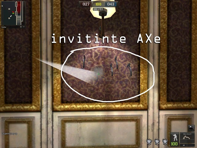 Invinite Ammo/ mini Axe... gokil kan kalo lagi main Piso