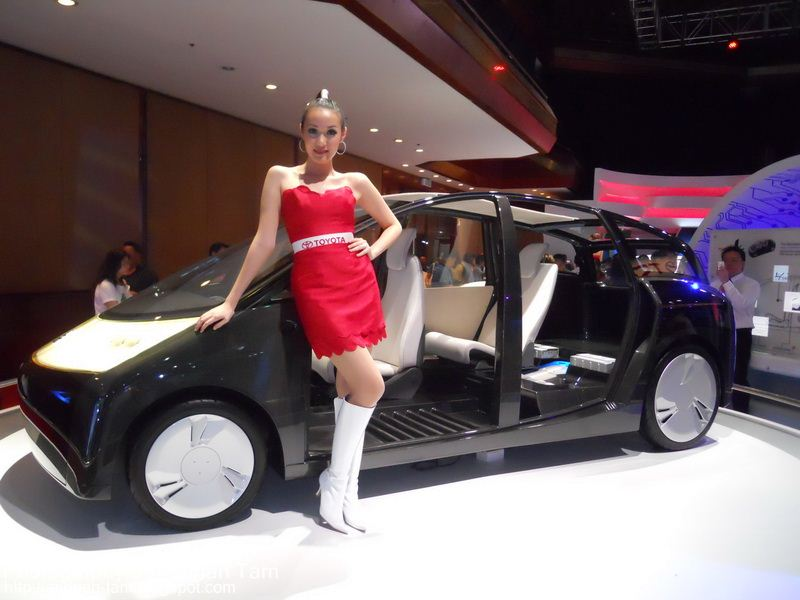 2007 Toyota 1x Concept. The Toyota 1/X..