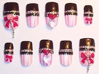 Snow Bloom: Nail Art Design (3D,cute, simple, until the