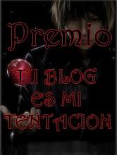 """""""PREMIO TENTACIÓN""""(2)"""