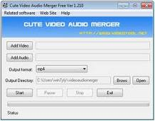 Trik Cara Menggabungkan Audio dan Video dengan Mudah | Cute Video Audio Merger