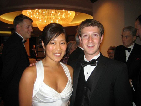 A tale of two geeks: Mark Zuckerberg, left, and the actor who plays