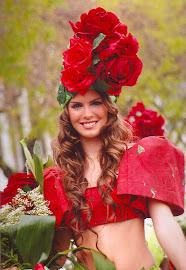 Rode rozen.........