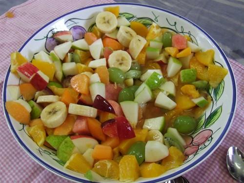 фруктовые салаты фотографиями