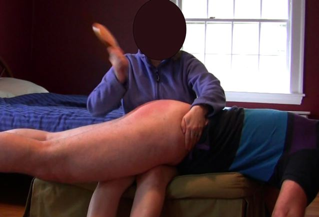 Asked my husband to spank me