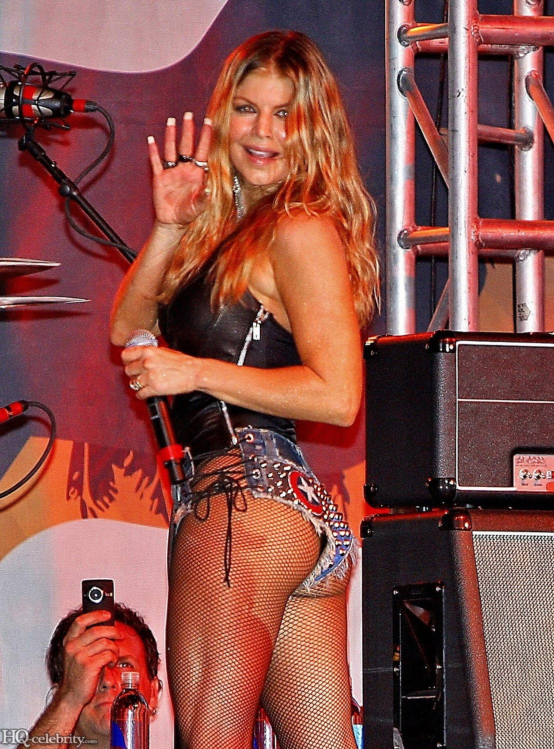 vintage bare ass on stage