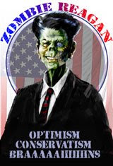 Zombie Reagan for President!