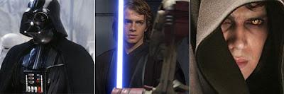 Anakin Skywalker y Darth Vader