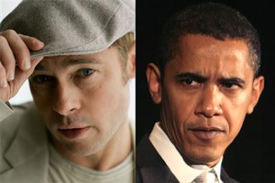 Brad Pitt y Barack Obama