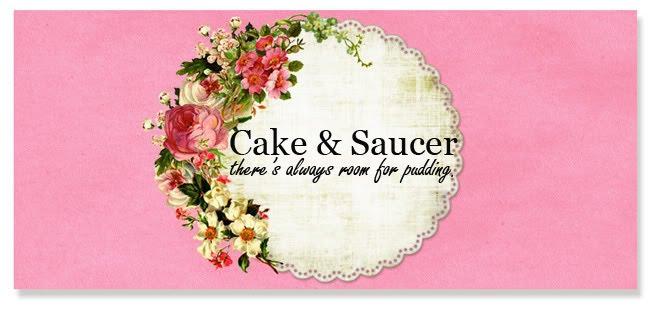 Cake and Saucer