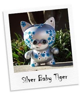 silver baby tiger