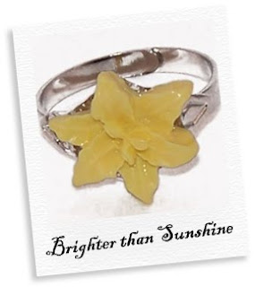 brighter than sunshine ring
