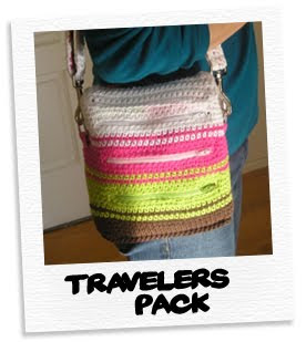 travelers pack in brights