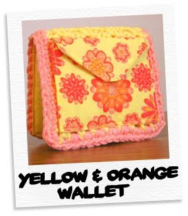 yellow & orange wallet