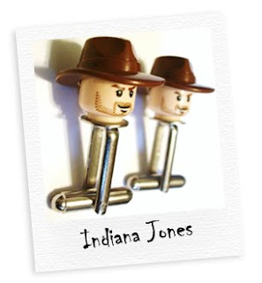 indiana jones cufflinks