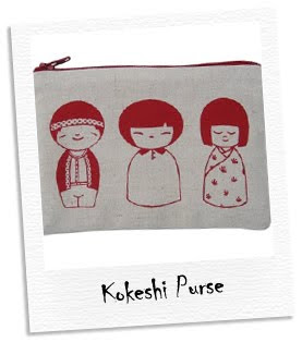 kokeshi purse