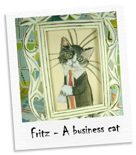fritz - a business cat