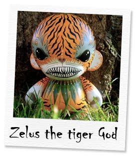zelus the tiger god