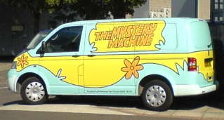 The Mystery Machine, apparently