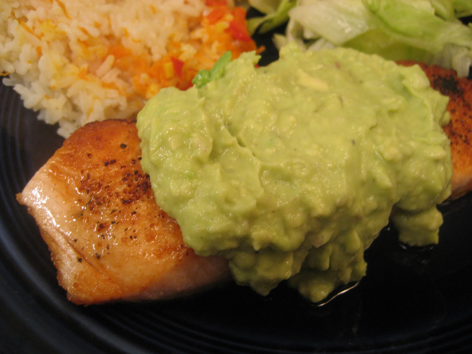 Elizabeth's Dutch Oven: Salmon with Avocado Remoulade