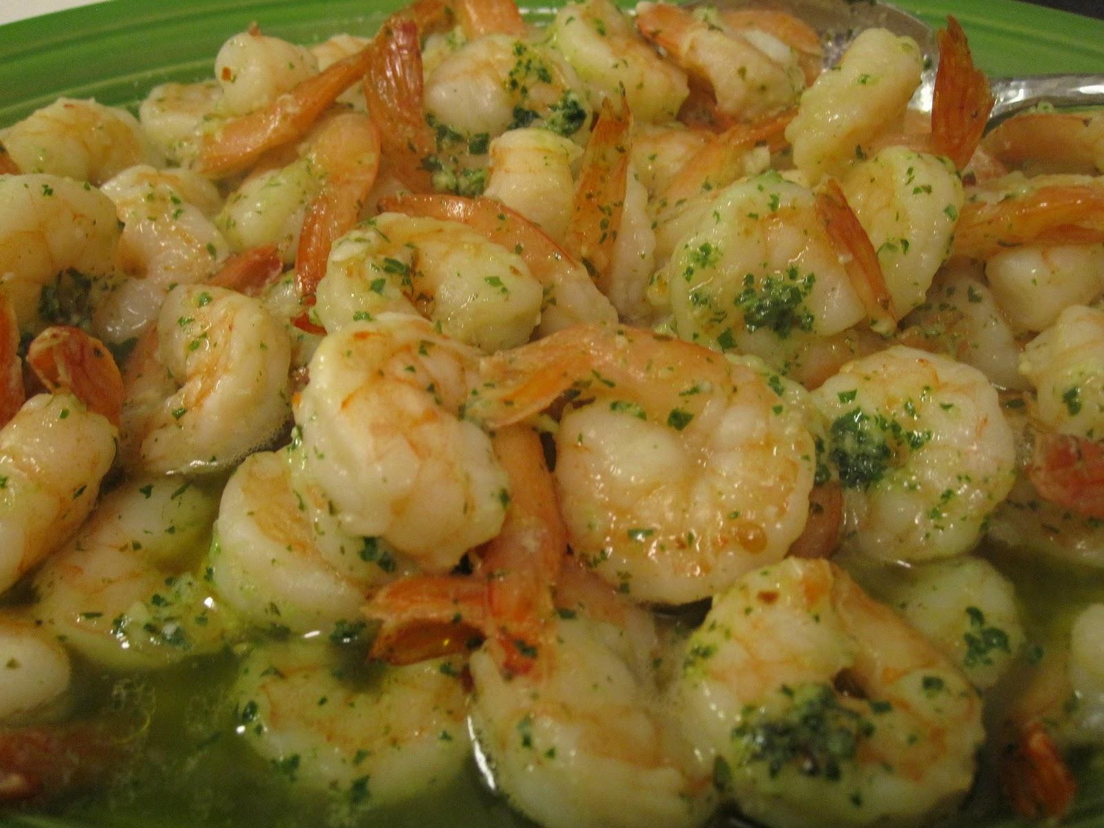 Elizabeth's Dutch Oven: Spicy Lemon Garlic Shrimp