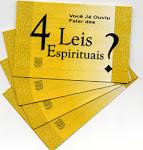 Você conhece as 4 leis espirituais?
