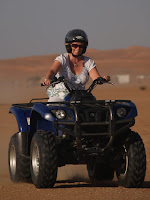 Quad bike Sama desert camp