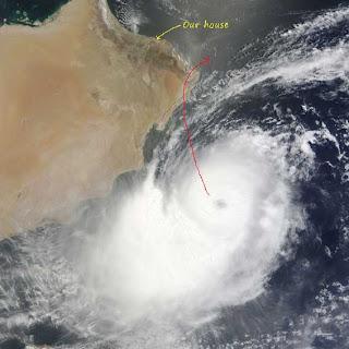 Cyclone Phet - Oman