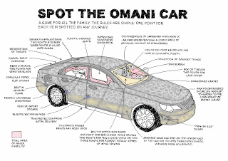Spot the Omani car
