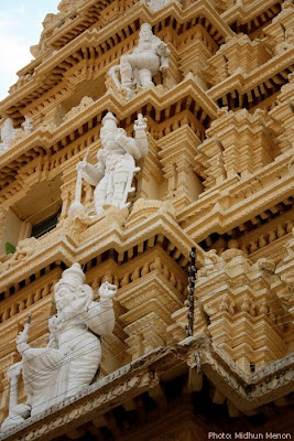 architecture at chamundi hill temple mysore