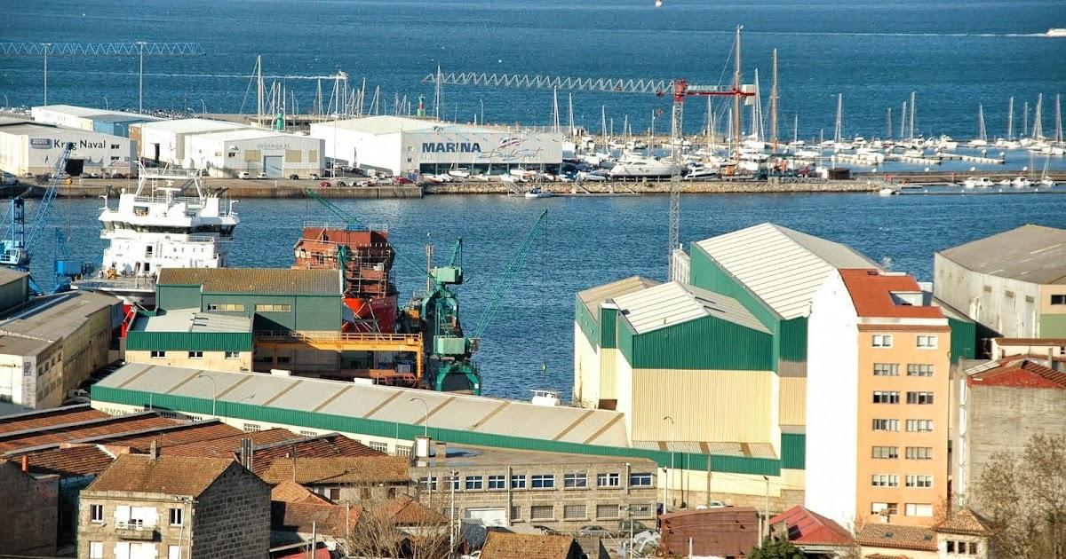 Fotos y videos de buques en vigo los astilleros armon en for Empresas de construccion en vigo