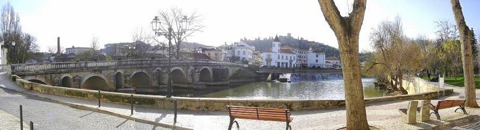 Tomar - Ponte Velha - Rio Nabão - Portugal